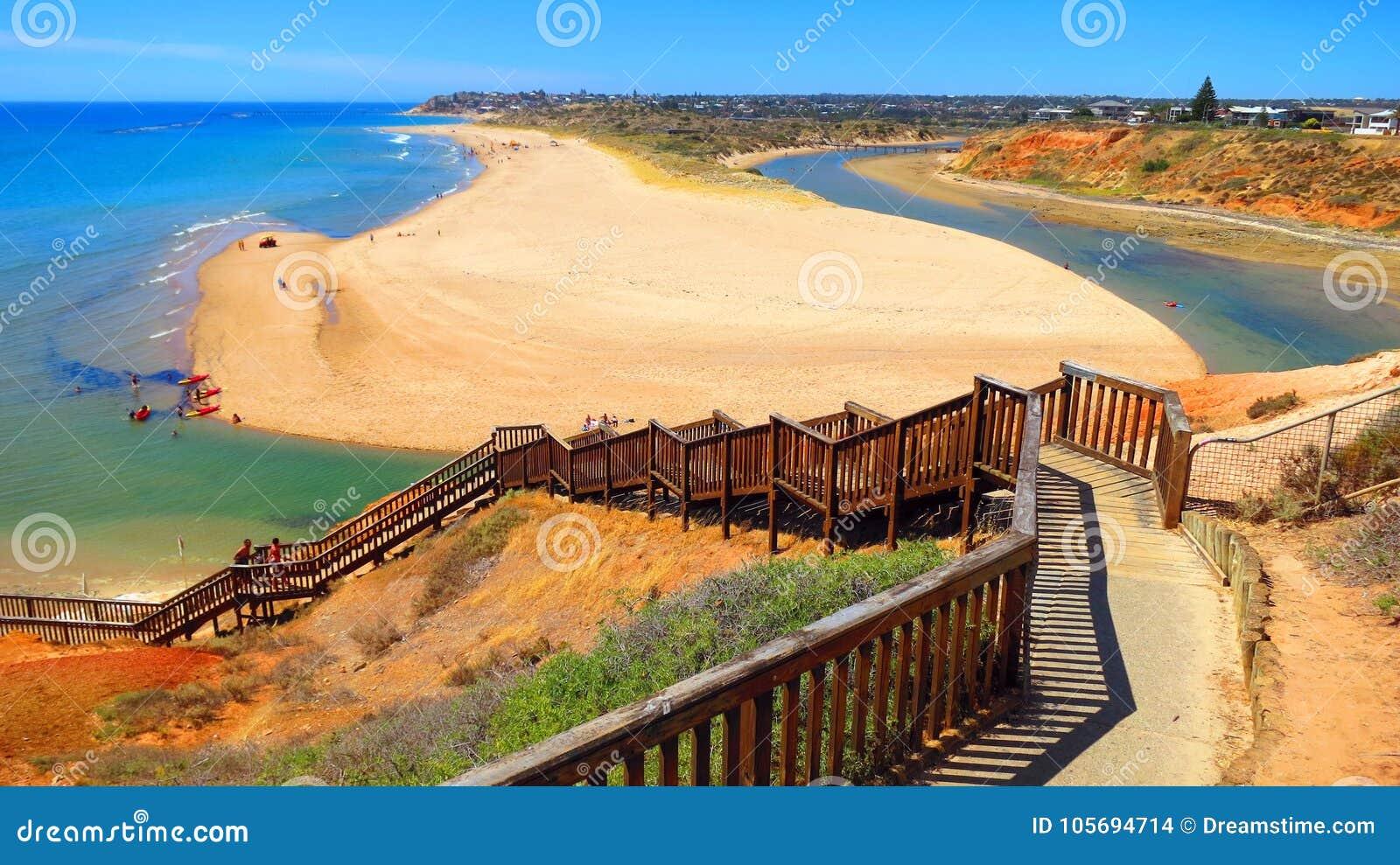 Playa en sur de Australia