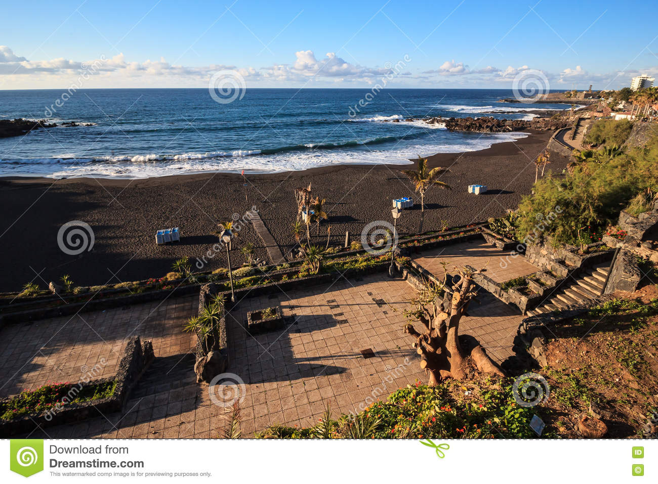 Playa jardin puerto de la cruz stock photo image 72644767 - Playa puerto de la cruz tenerife ...