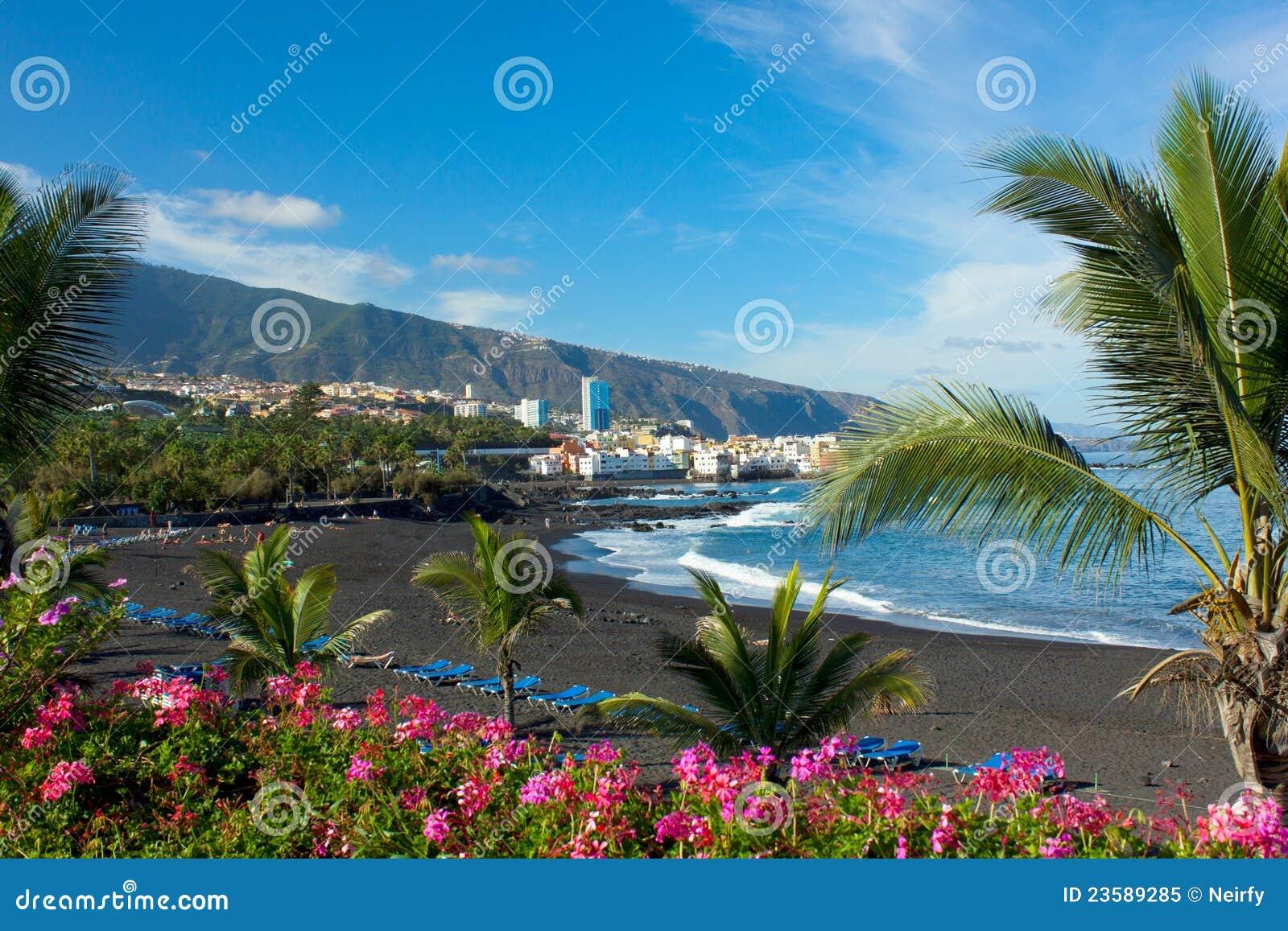 Playa Jardin, Tenerife, Spagna