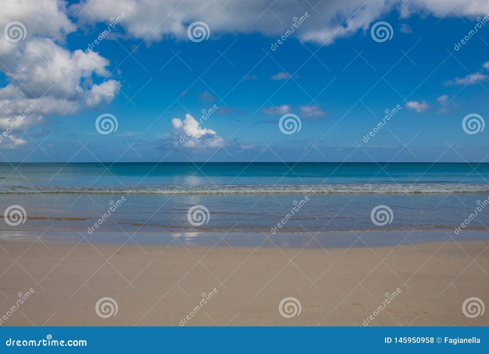 Playa Macao, Punta Cana, Dominicaanse Republiek: verbazend openbaar strand, glasheldere overzees, tropisch paradijs; prachtig sce