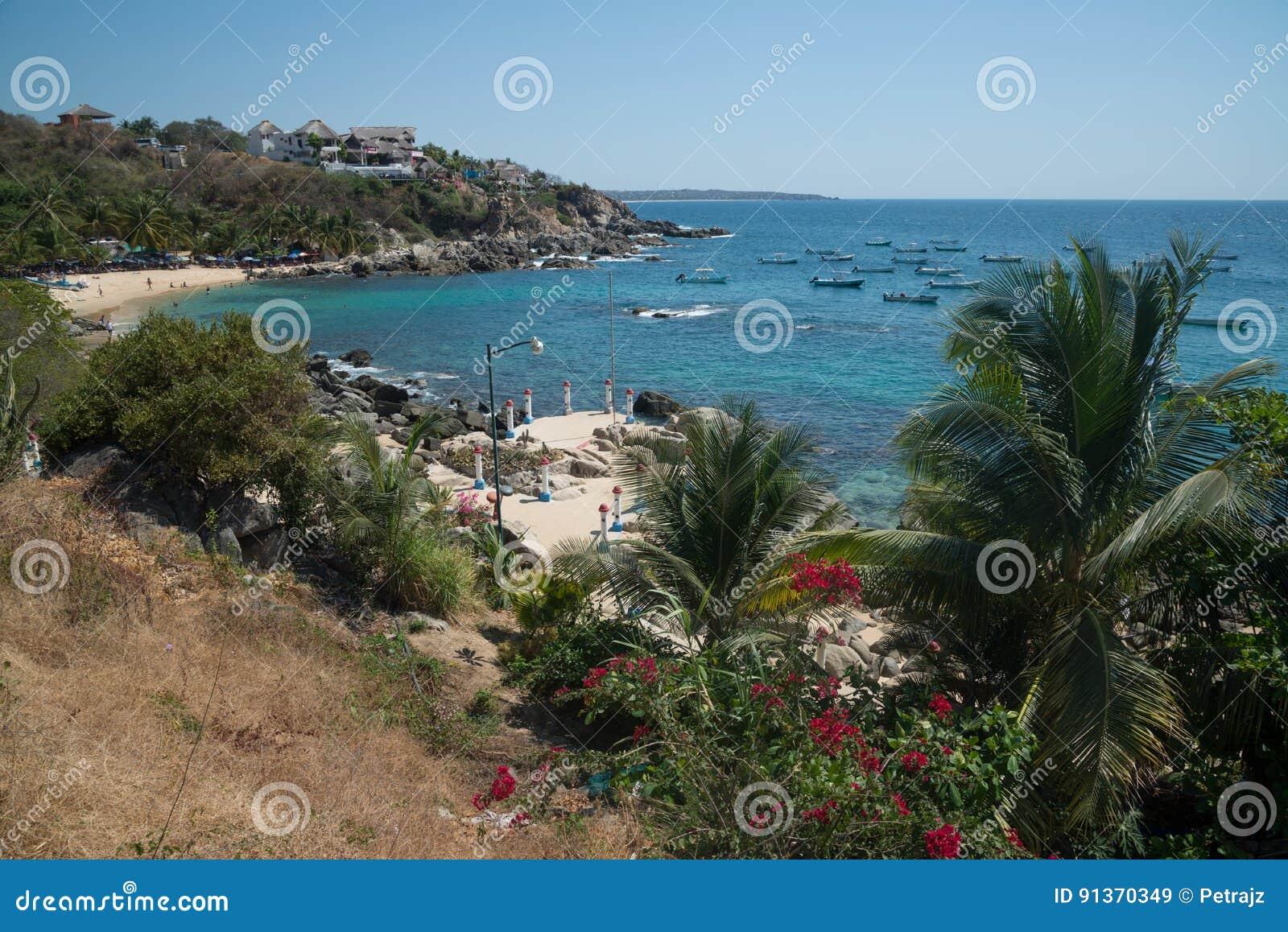 Playa Manzanillo, Oaxaca, Mexico