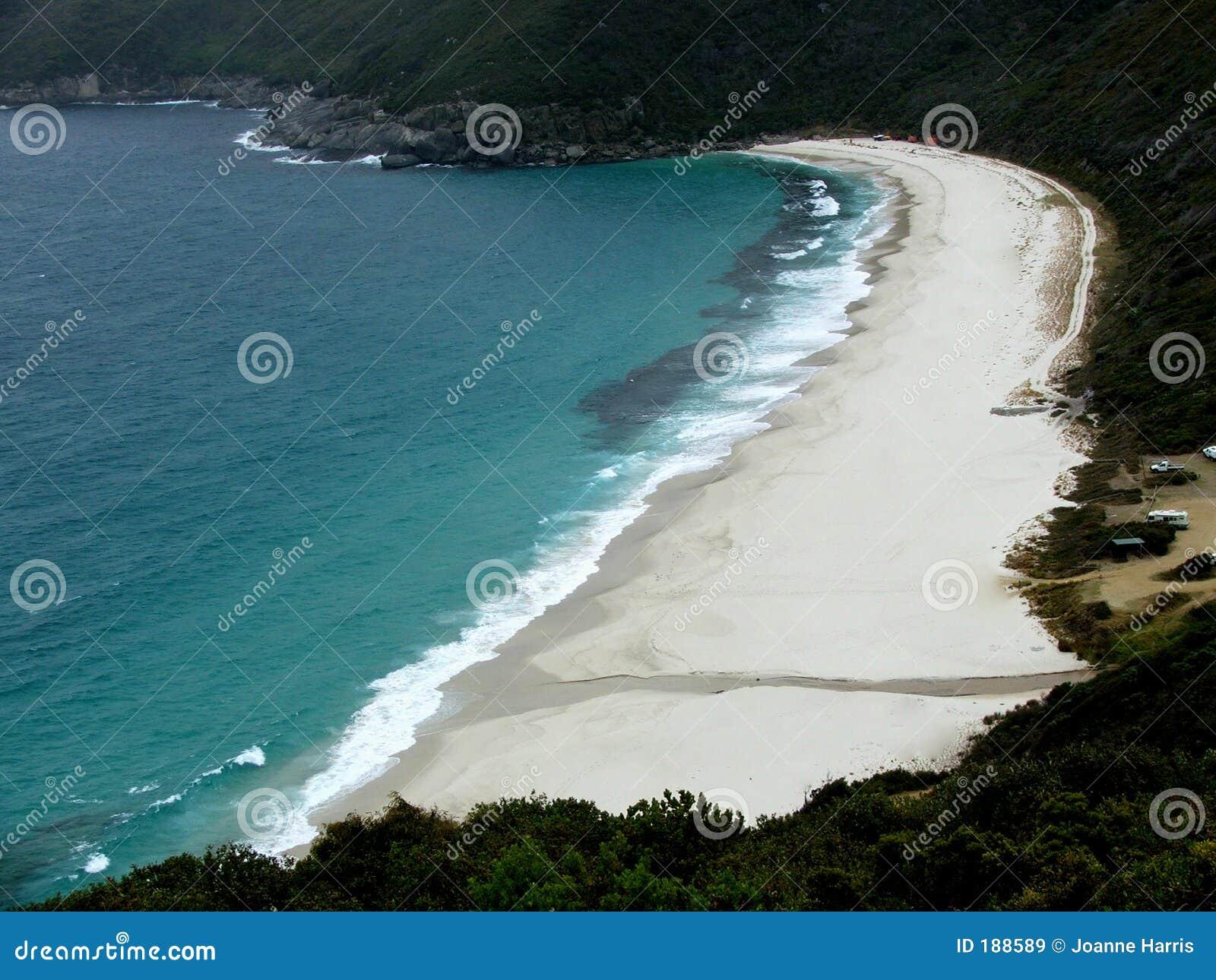 Playa - mirando abajo