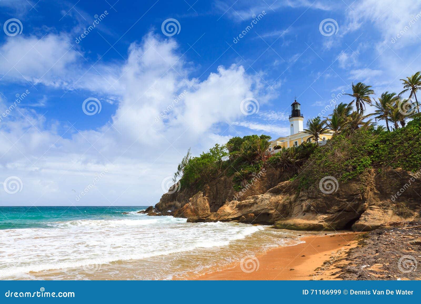 Playa Puerto Rico del atún de Punta