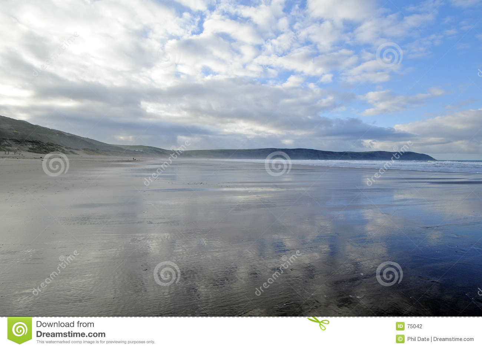 Playa Reino Unido de Woolacombe