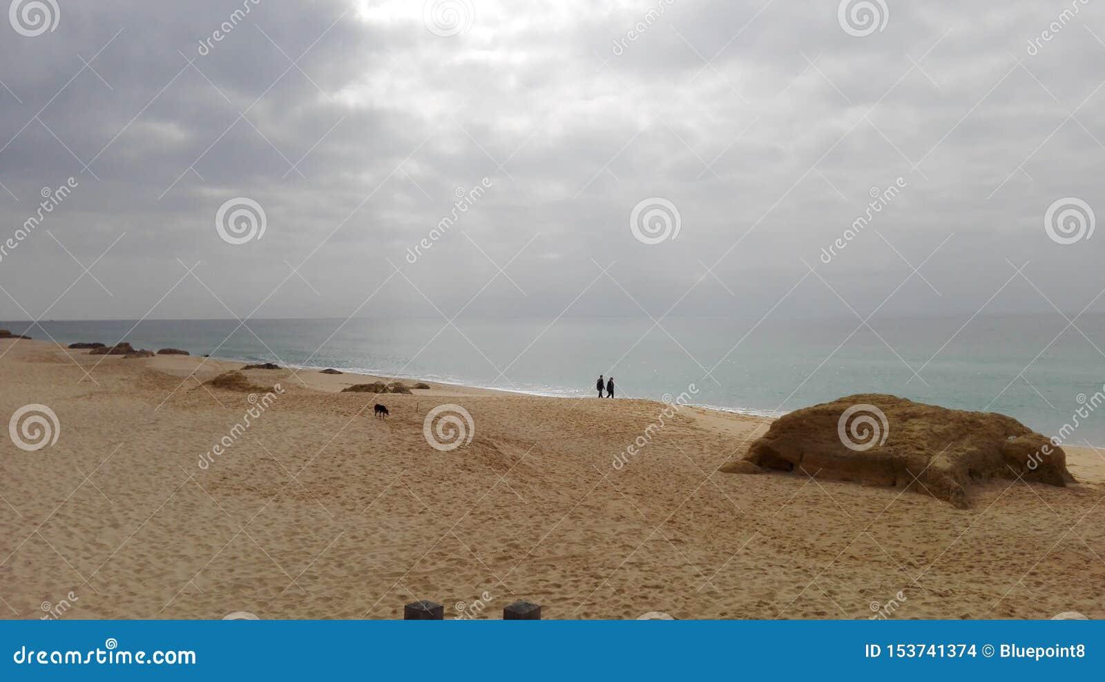 Playa romántica de sueños en Albufeira