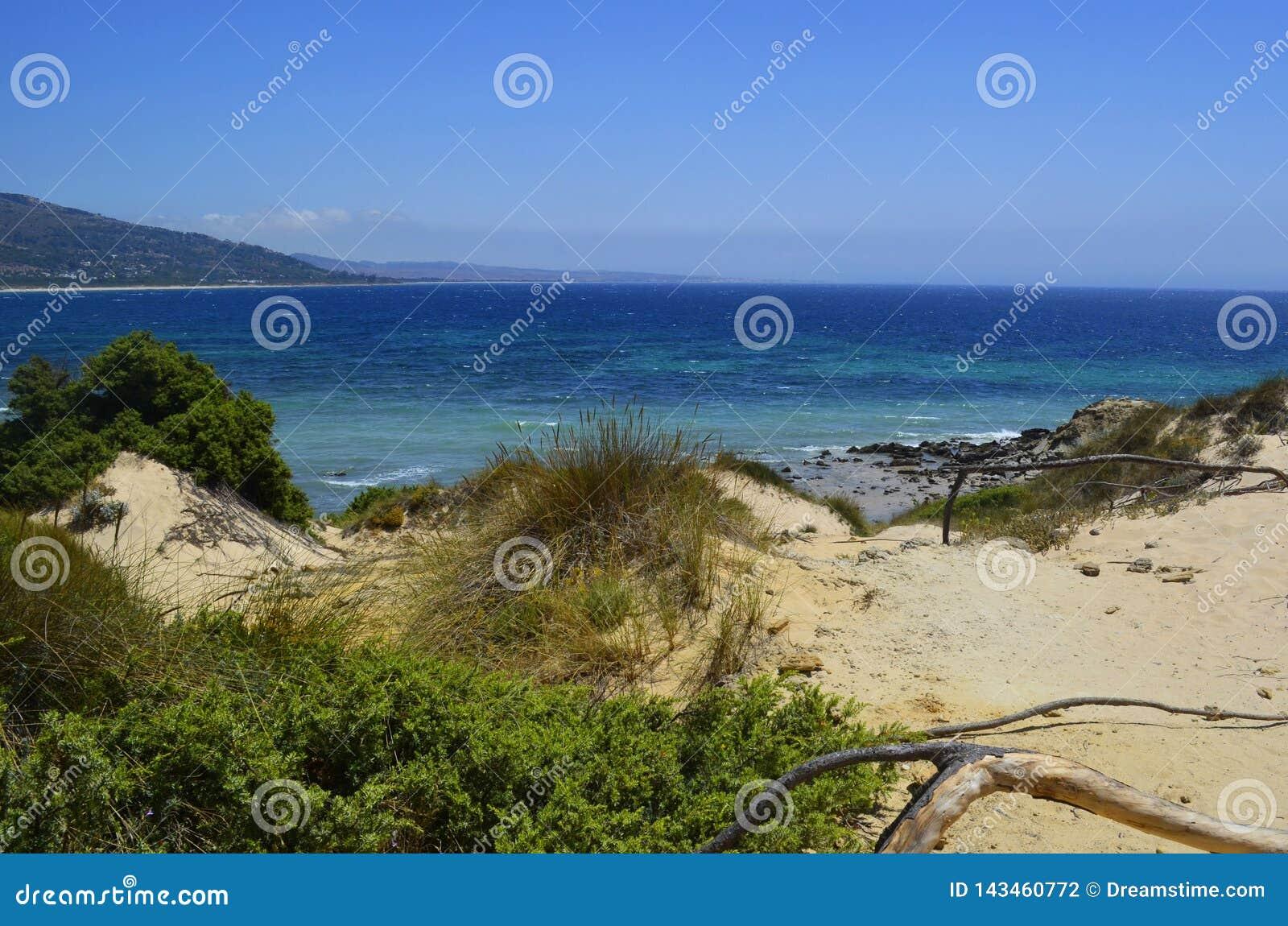 Playa secreta y abandonada del La Paloma
