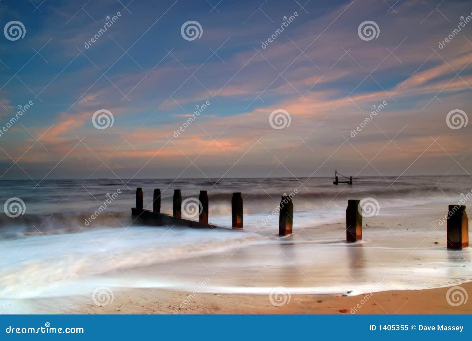 Playa soñadora de Southwold