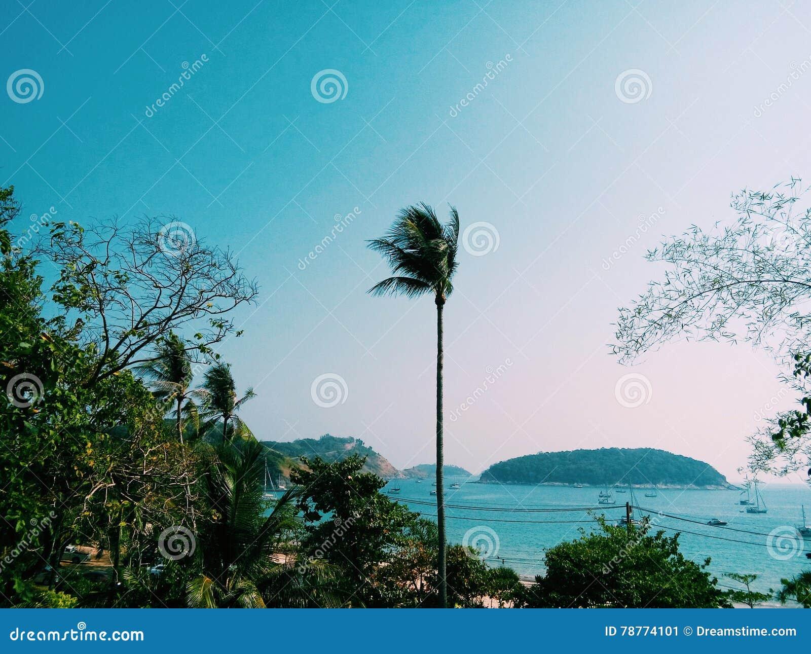 Playa tailandesa