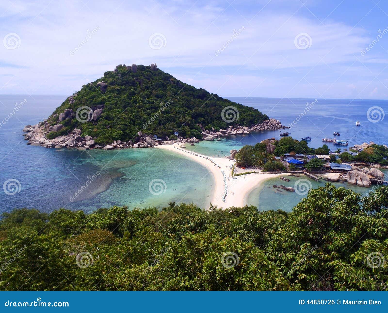 Playa tropical hermosa