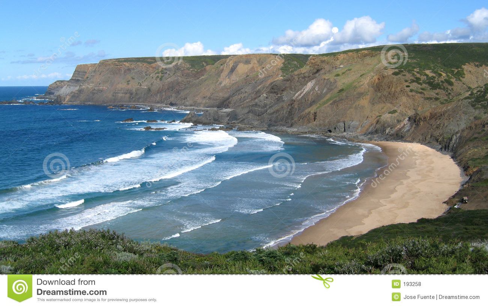 Playa vacía