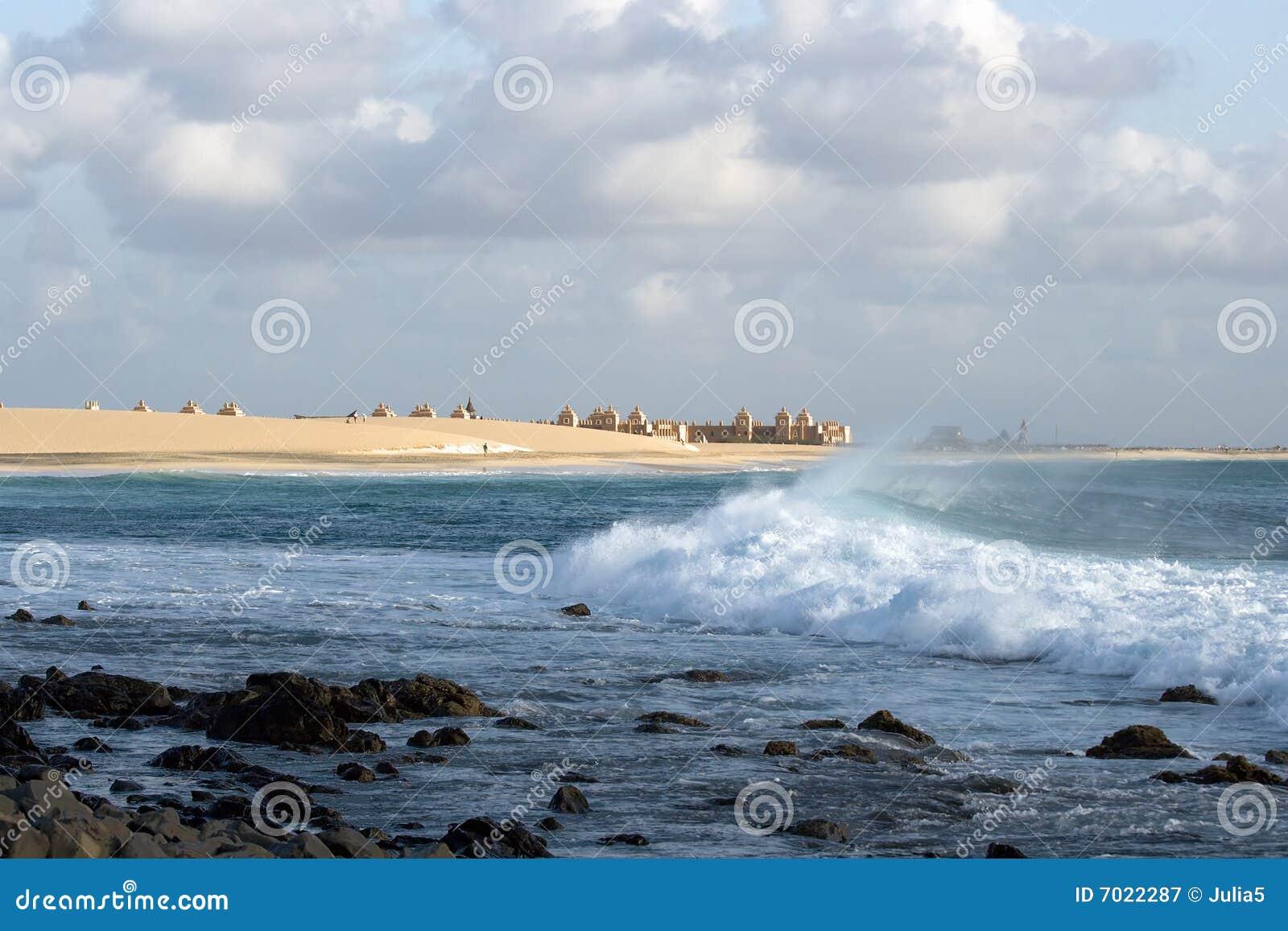 Playa y resaca