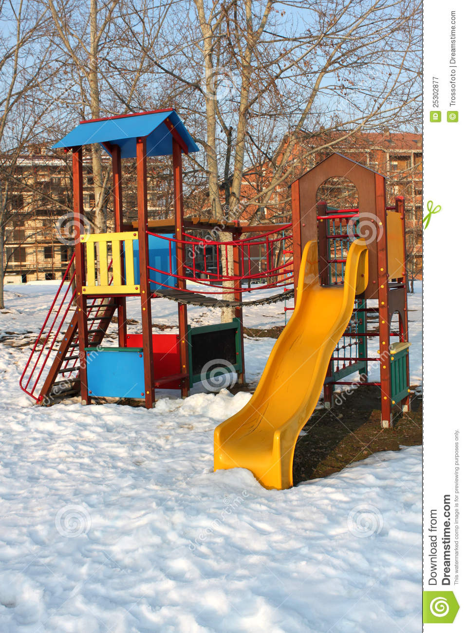 Playground Royalty Free Stock Photography - Image: 25302877