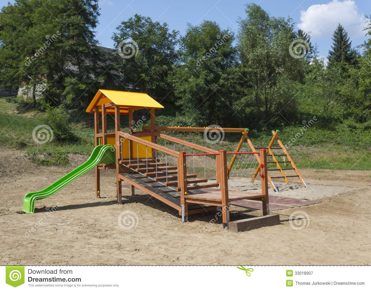 Playground Royalty Free Stock Photography - Image: 33018907