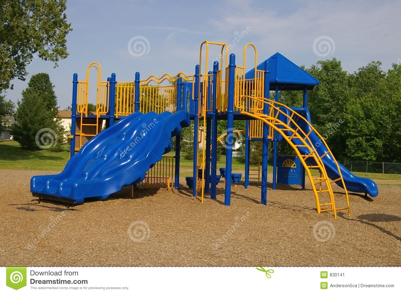 Playground Equipment Stock Image - Image: 830141