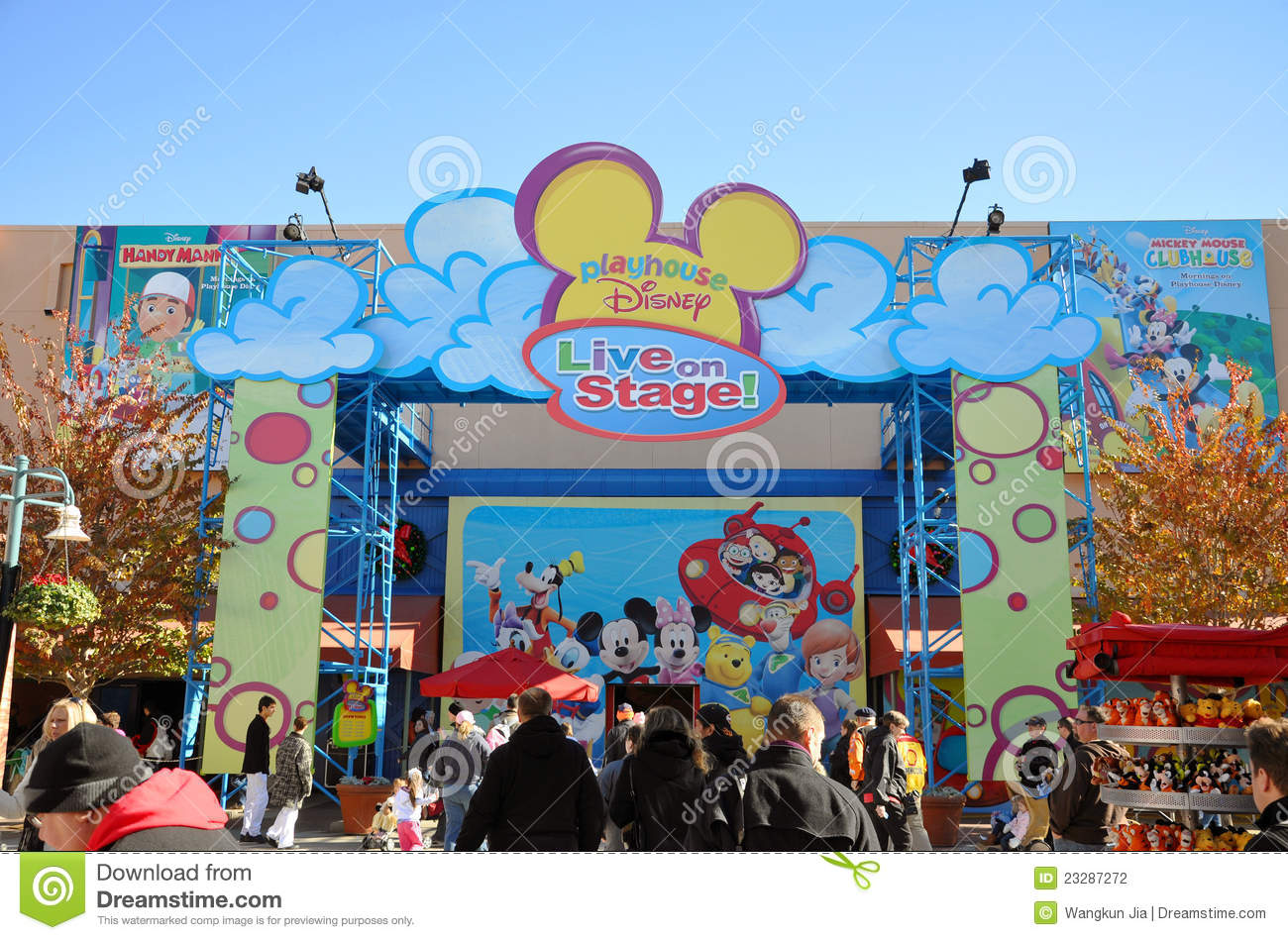 Playhouse Disney Live On Stage Show In Disney Editorial