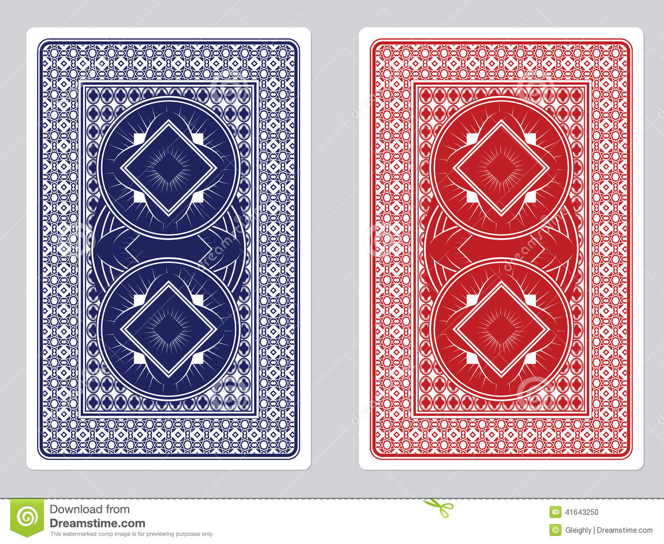 Playing Cards With Back Designs