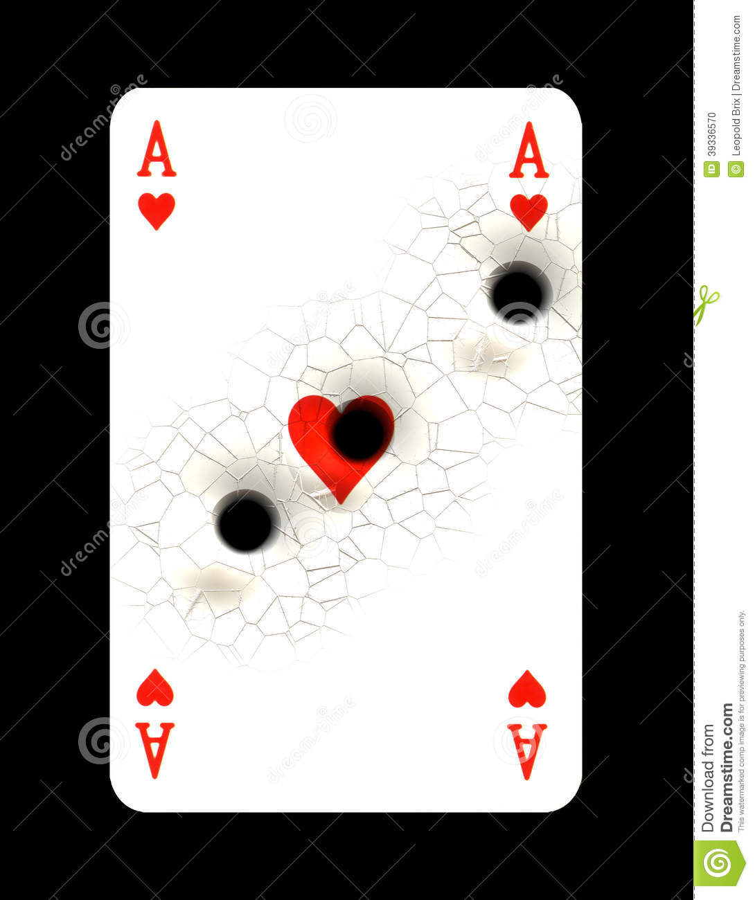 playing card with bullet hole stock illustration image Skull Bullet Hole Vector Bullet Hole Silhouette