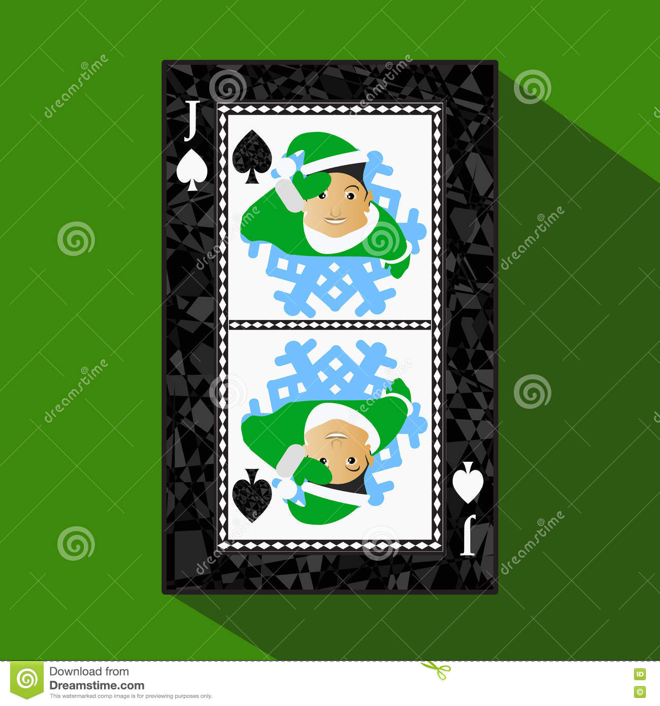 Playing Card. The Icon Picture Is Easy. Peak Spide JACK JOKER NEW ...