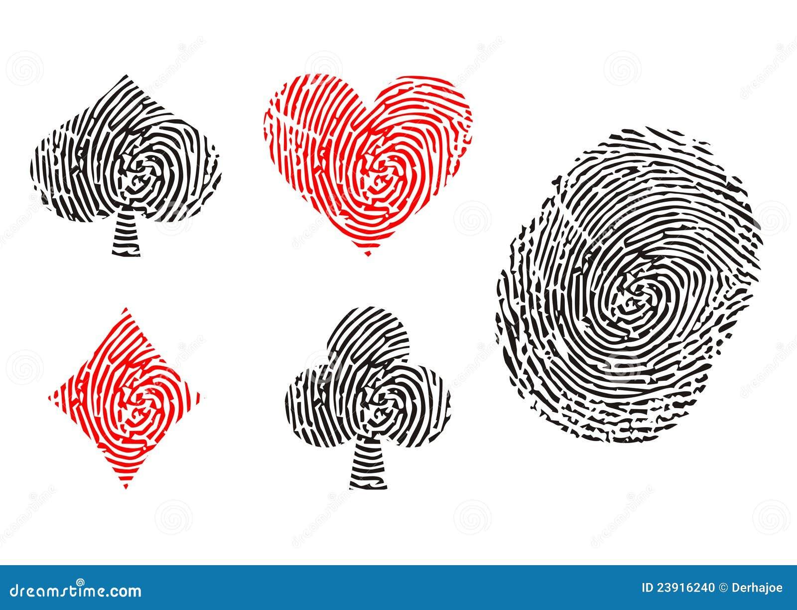 Playing Card Symbols Stock Photo Image 23916240