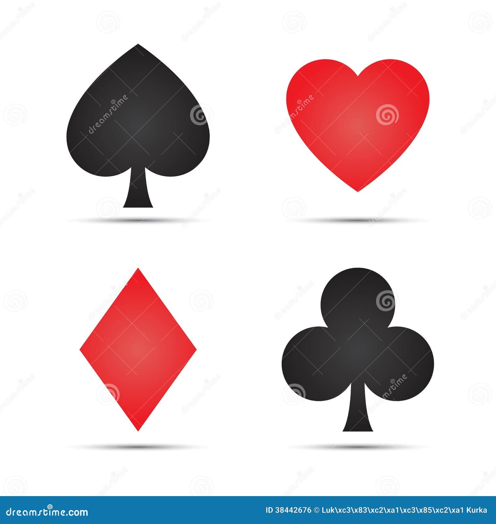 Poker Cards Symbols Juegos Casino Frutas