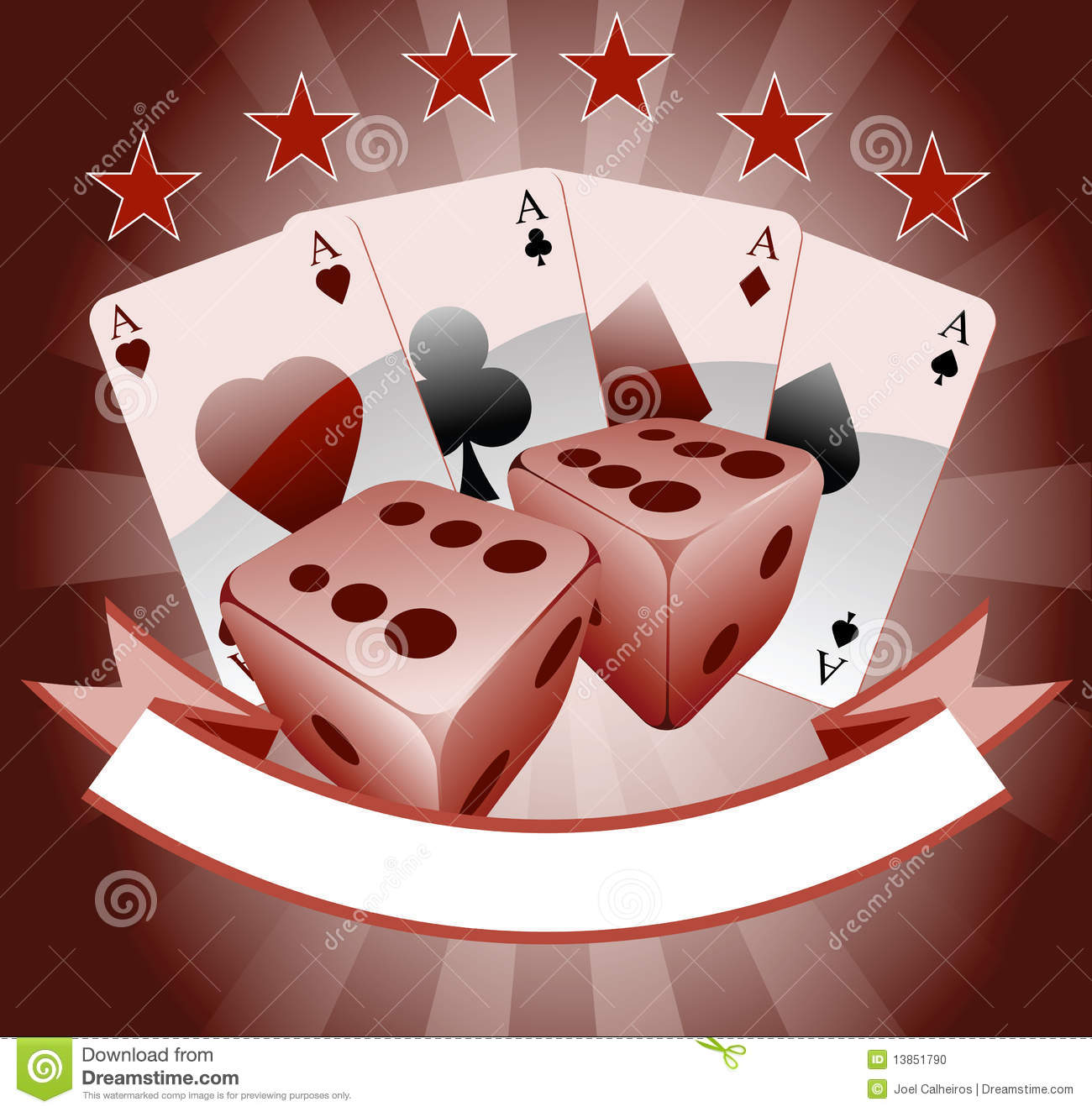 Playing Cards Stock Vector Illustration Of Blackjack 13851790