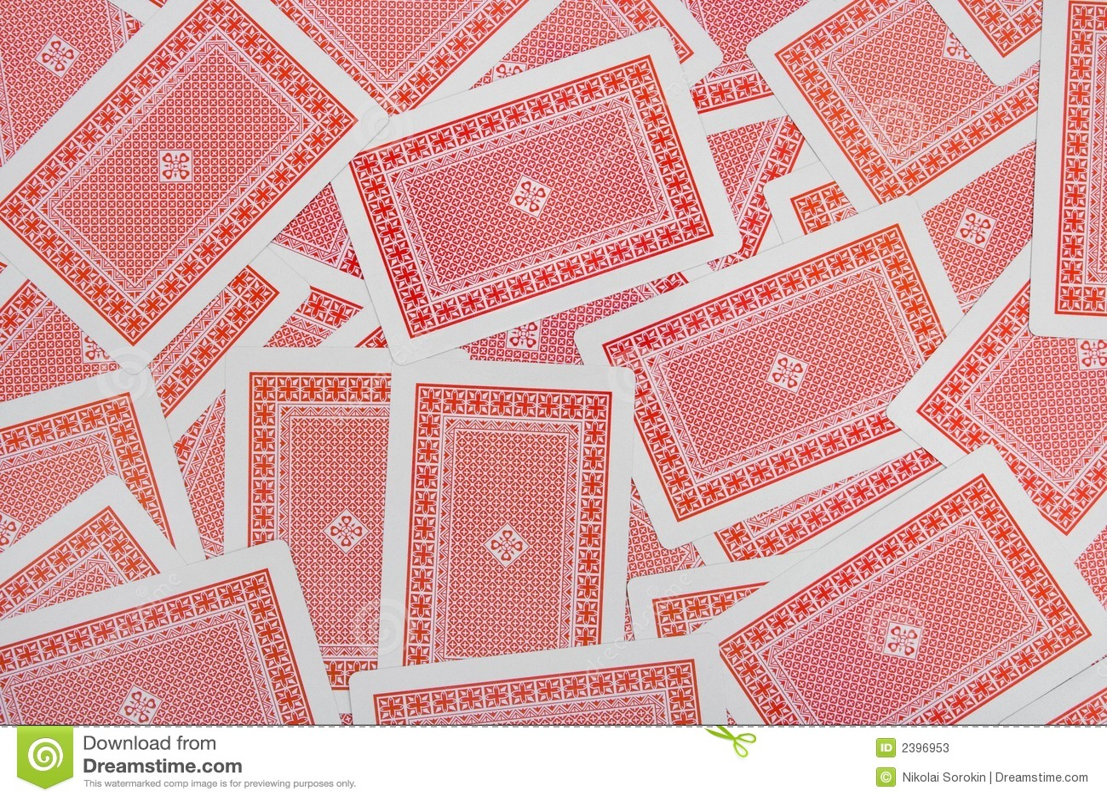 playing cards background stock image image of pile flush