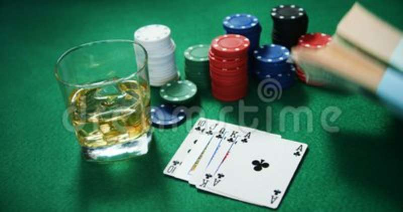 Peachy Playing Cards Casino Chips Bundle Of Us Dollar And Glass Of Beer On Poker Table 4K Home Remodeling Inspirations Basidirectenergyitoicom