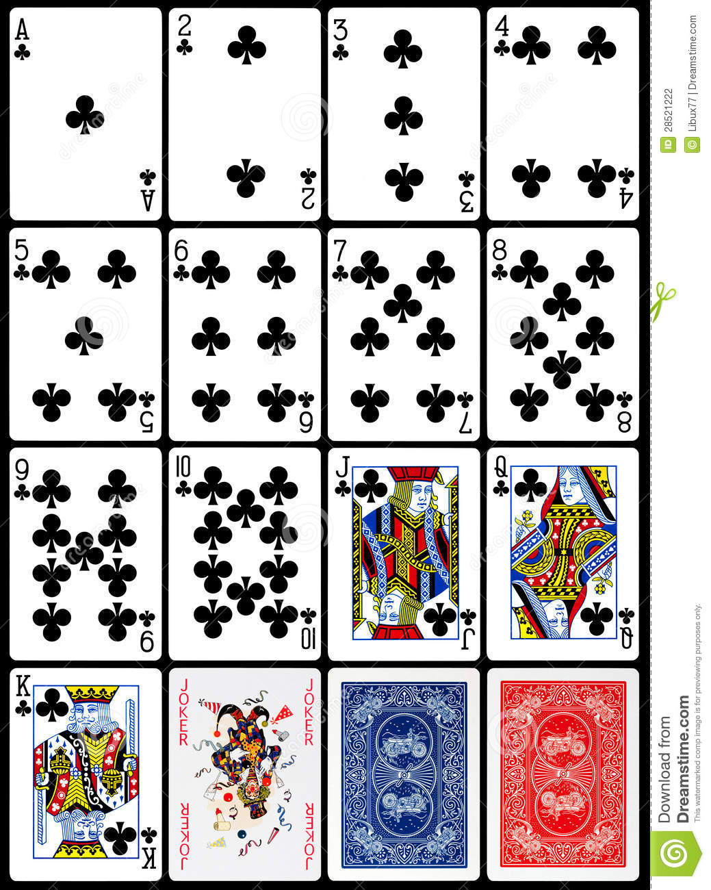 Poker cards deck download