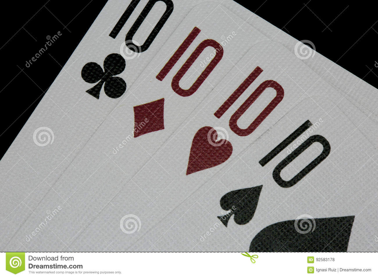 Playing Cards Poker Wallpaper Hd Stock Photo Image Of