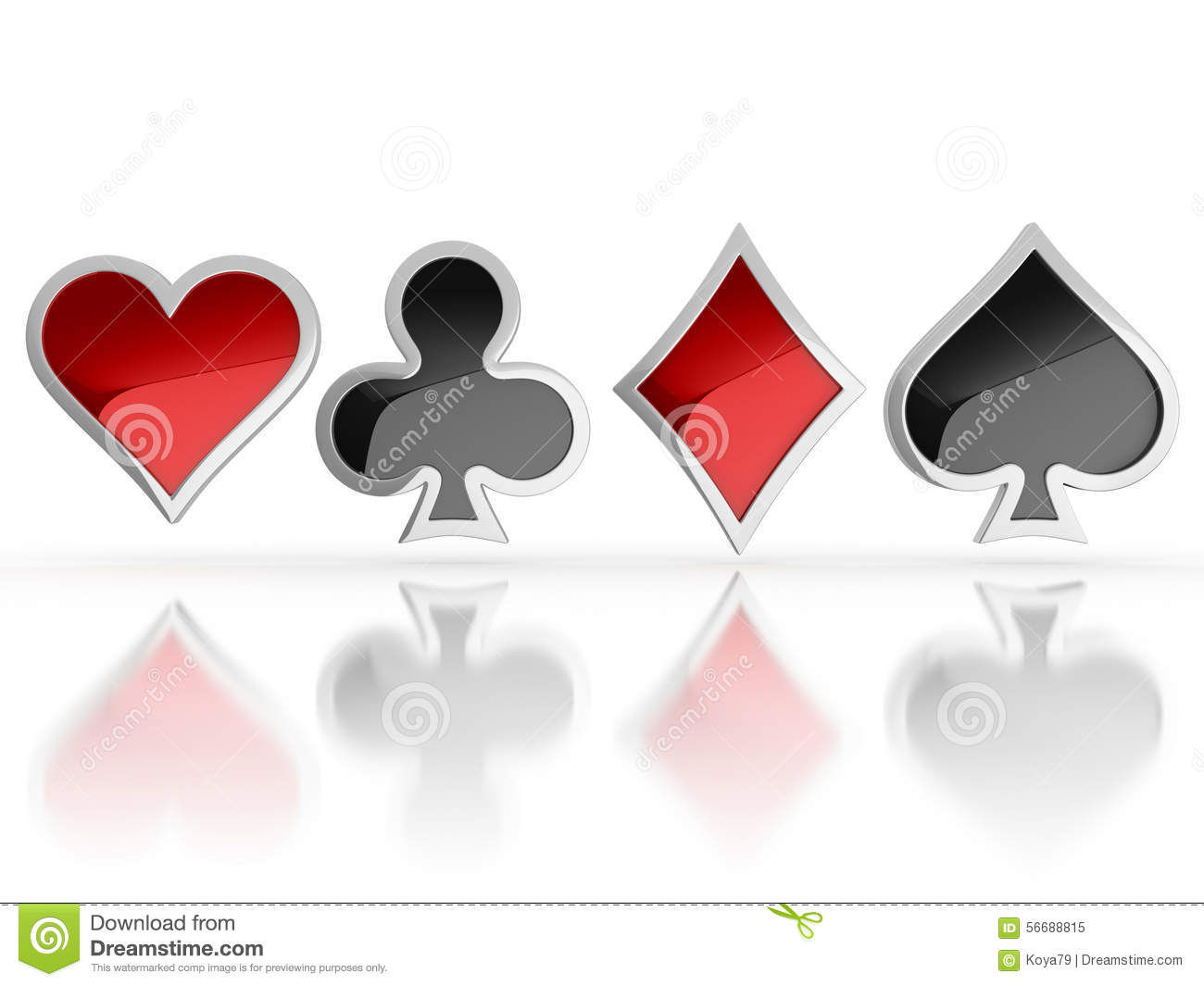 Playing cards symbols heart club diamond and spade 3d icons playing cards symbols heart club diamond and spade 3d icons biocorpaavc