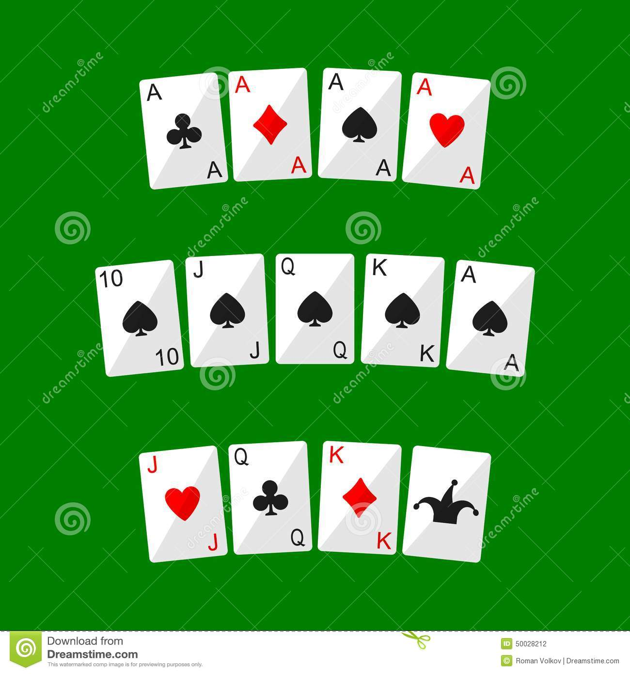 Playing Cards Stock Vector Image Of Leisure Joker Full 50028212