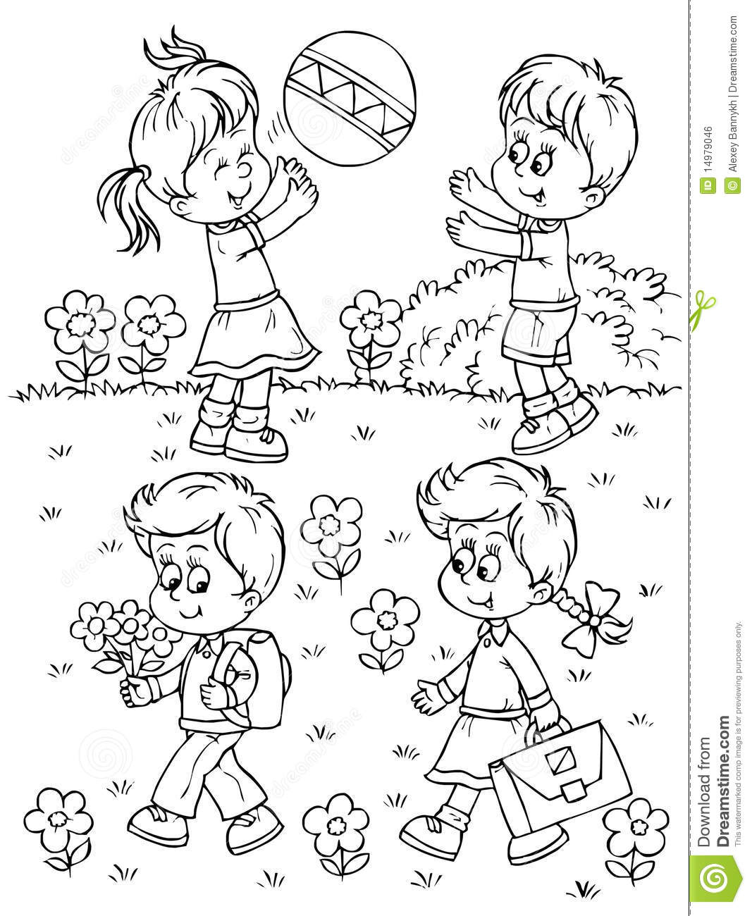 playing safe coloring pages - photo#24