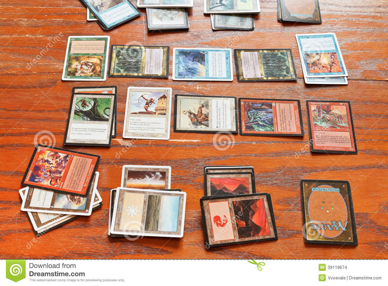 Playing field of card game magic the gathering editorial stock image image of tournament game - Magic the gathering game table ...