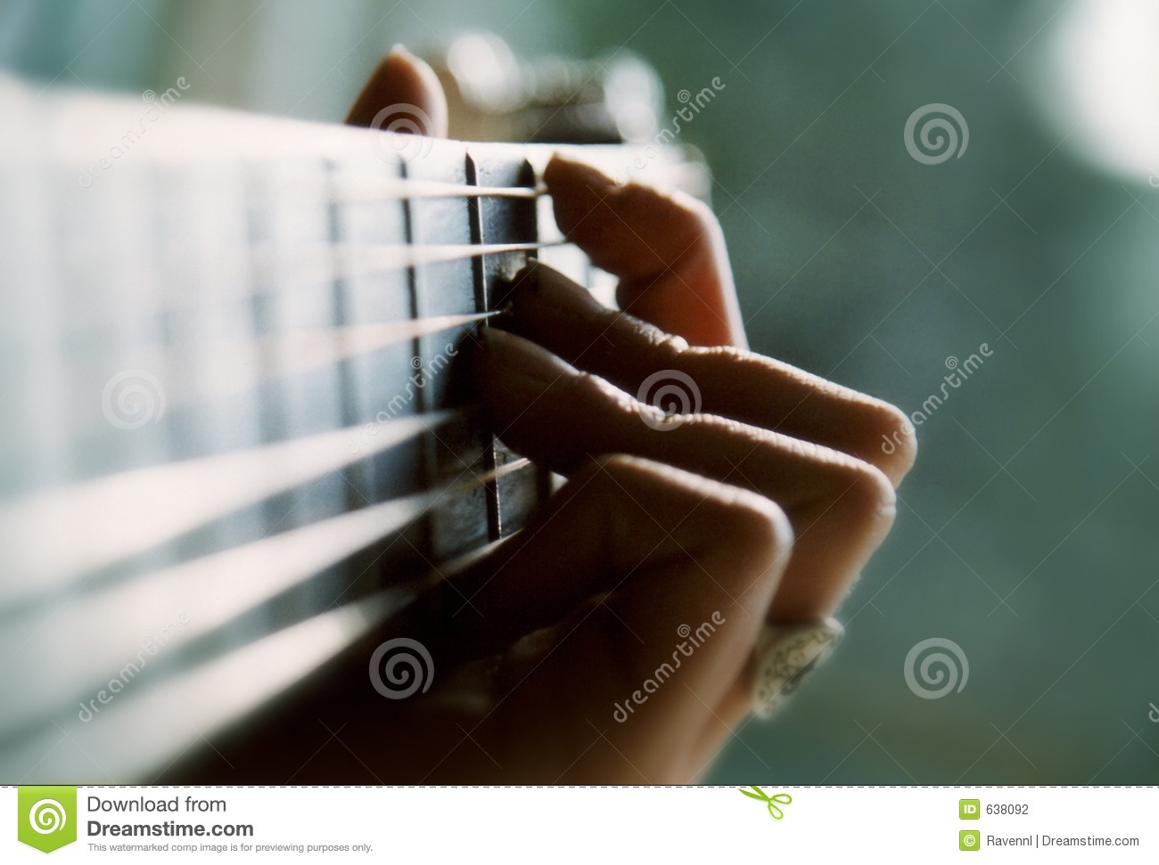 Download Playing the guitar stock photo. Image of closeup, string - 638092