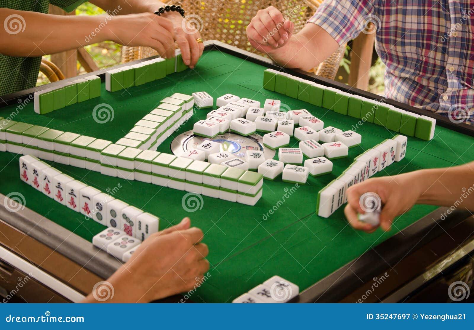 the game mahjong