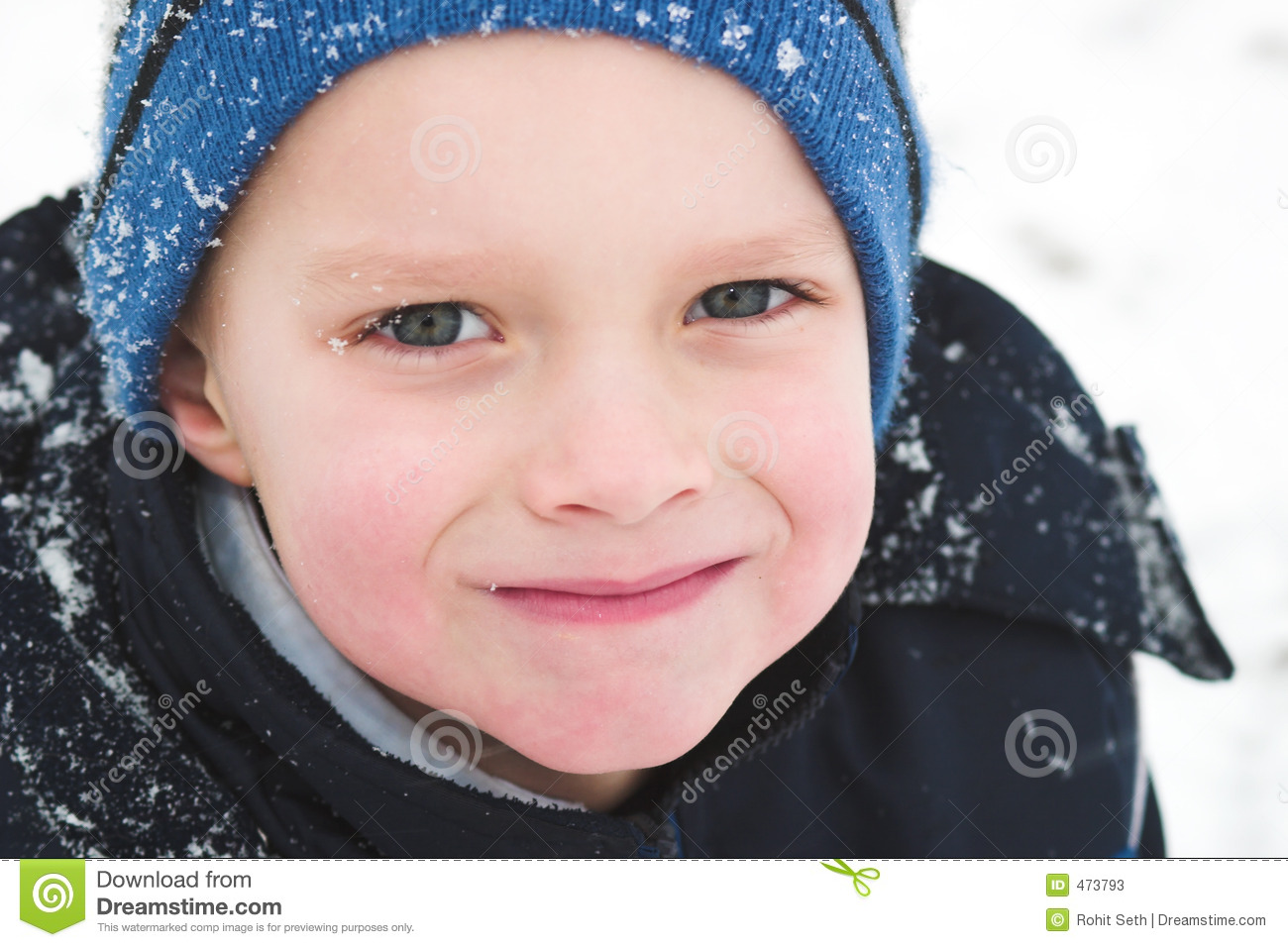 Playing outside in the winters