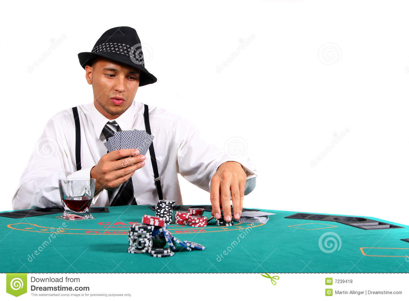 Playing poker for free - Plug into expansion slots on the motherboard