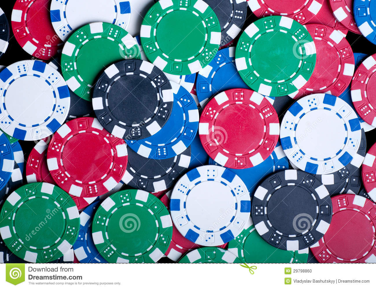 Playing Poker Chips Background Stock Photo - Image: 29798860