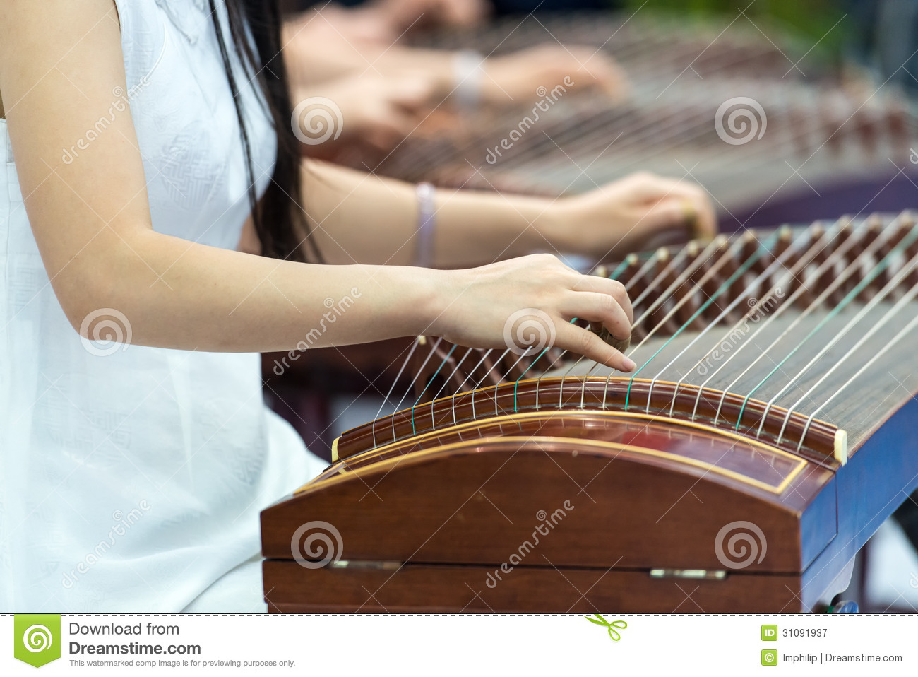 playing zither royalty free stock photography image