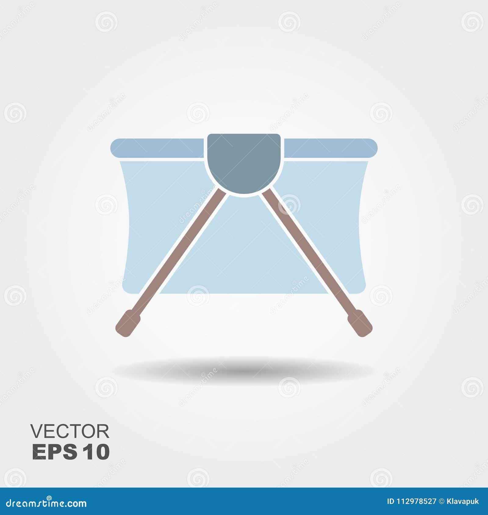 Playpen vector icon