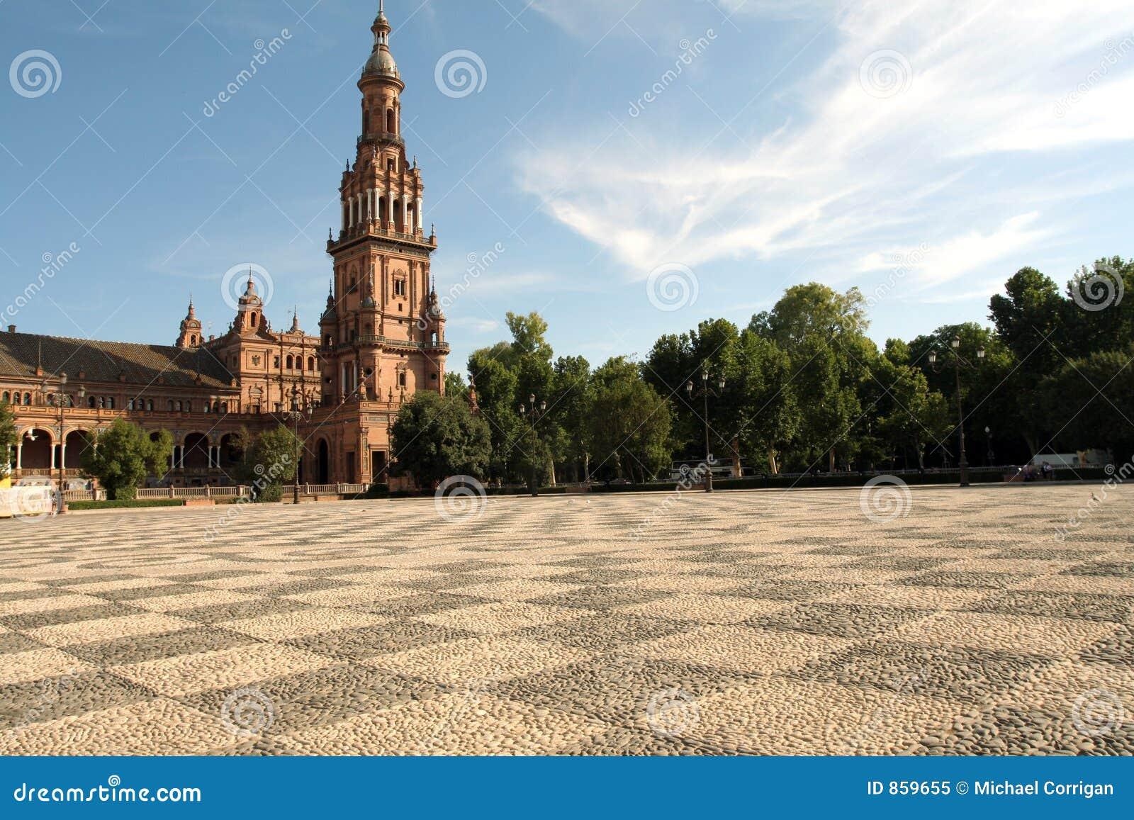 Plaza Σεβίλη Ισπανία de espana
