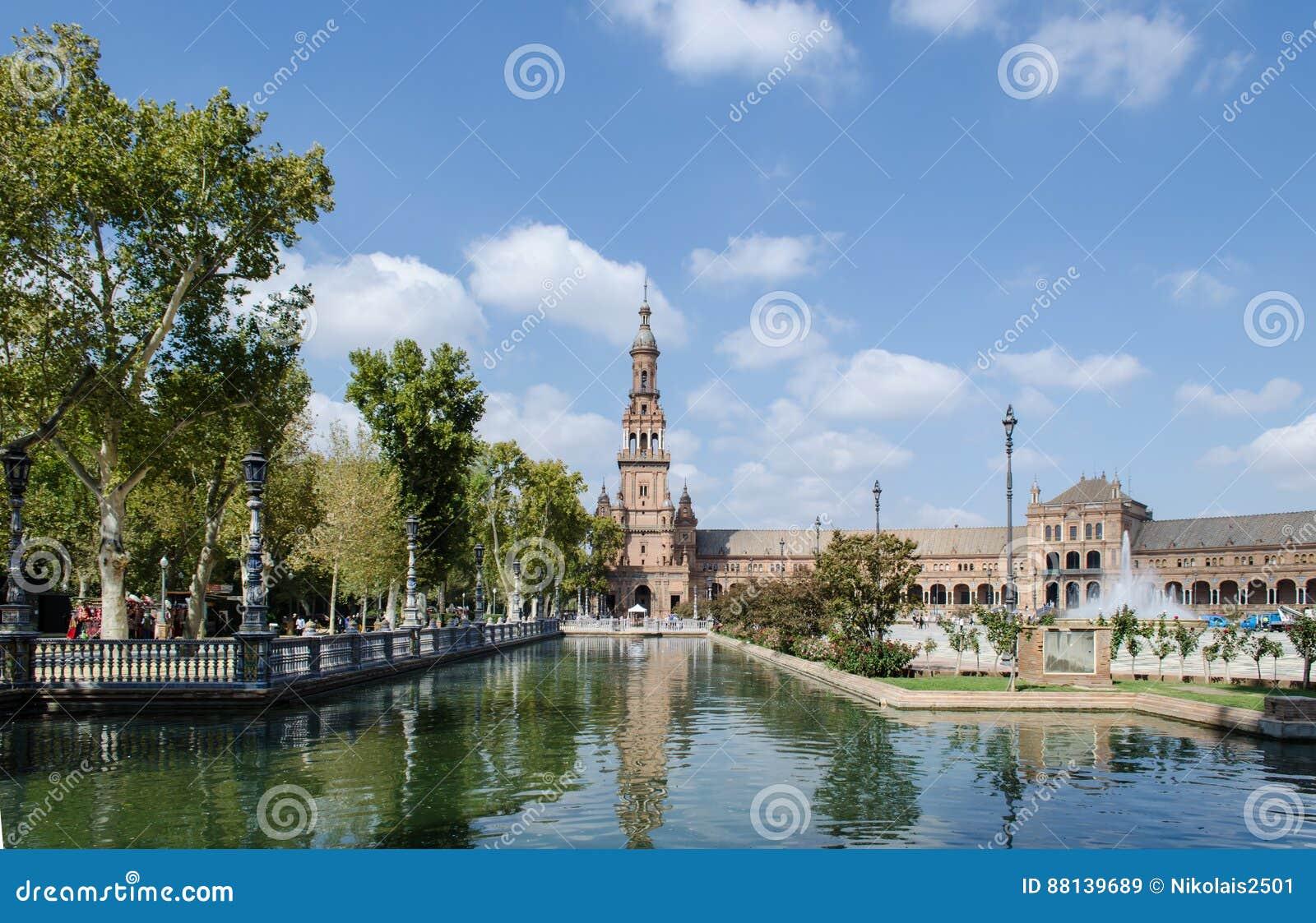 Plaza av Spanien, Seville