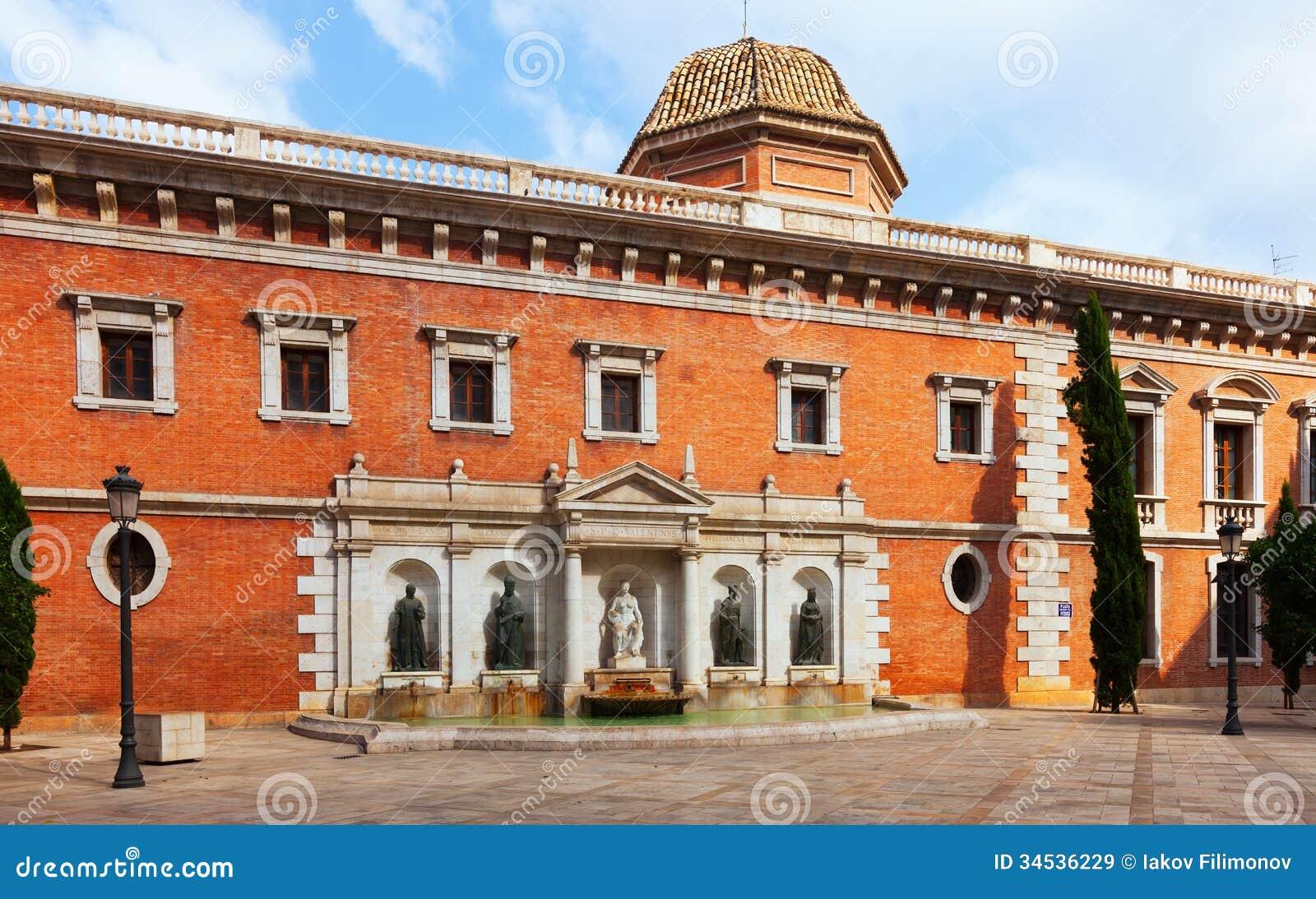 Plaza Colegio Del Patriarca In Valencia. Spain Royalty Free Stock Images - Im...