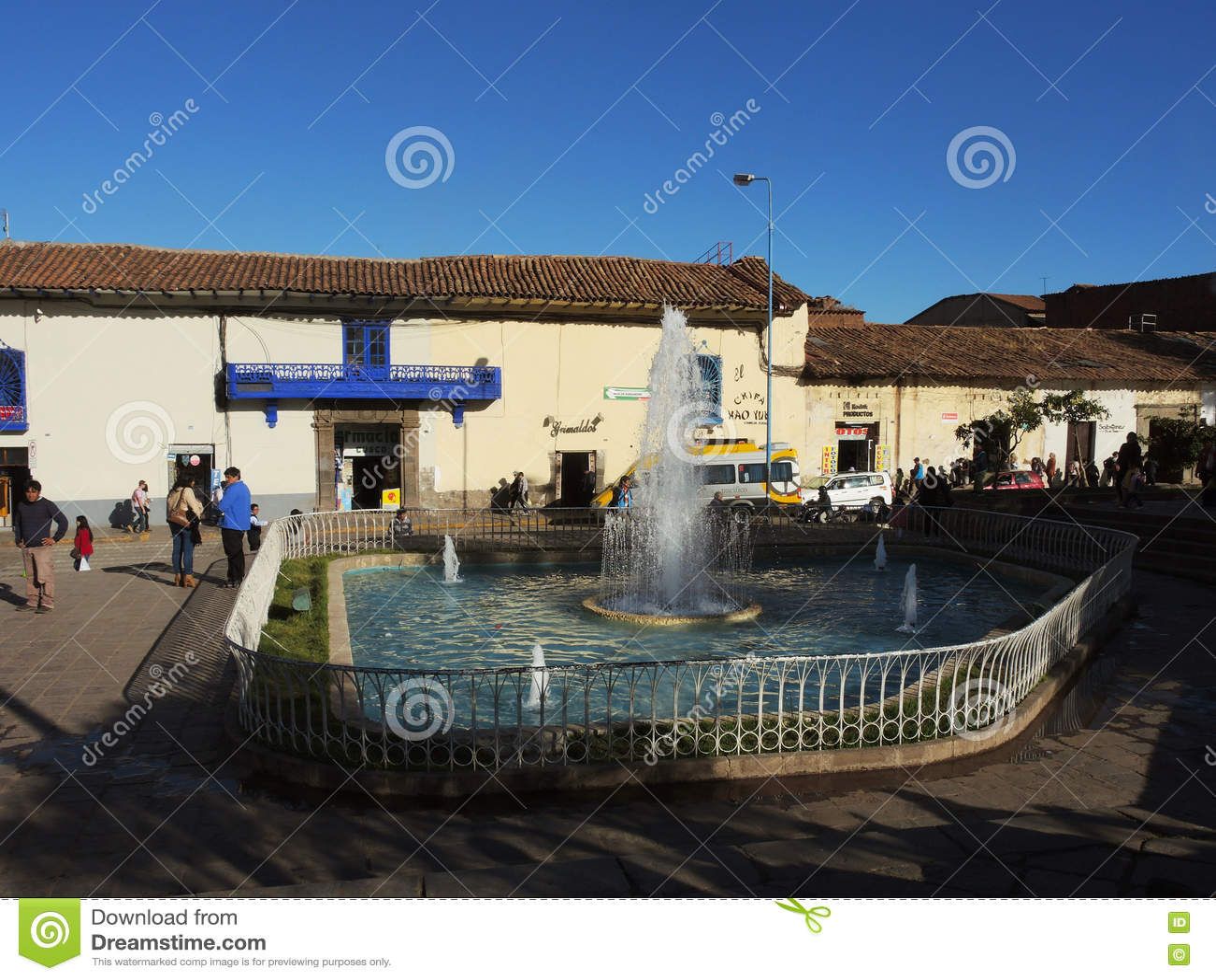 Plaza dans Cusco, Pérou