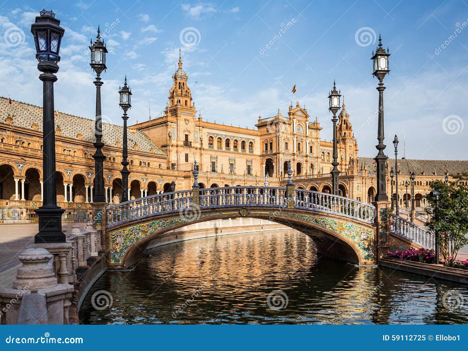 Plaza de西班牙 塞维利亚 西班牙