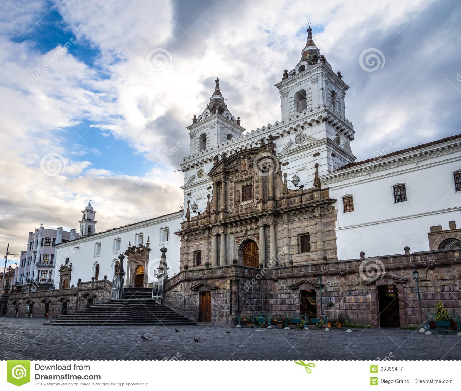 Plaza de Σαν Φρανσίσκο και εκκλησία του ST Francis - Κουίτο, Ισημερινός