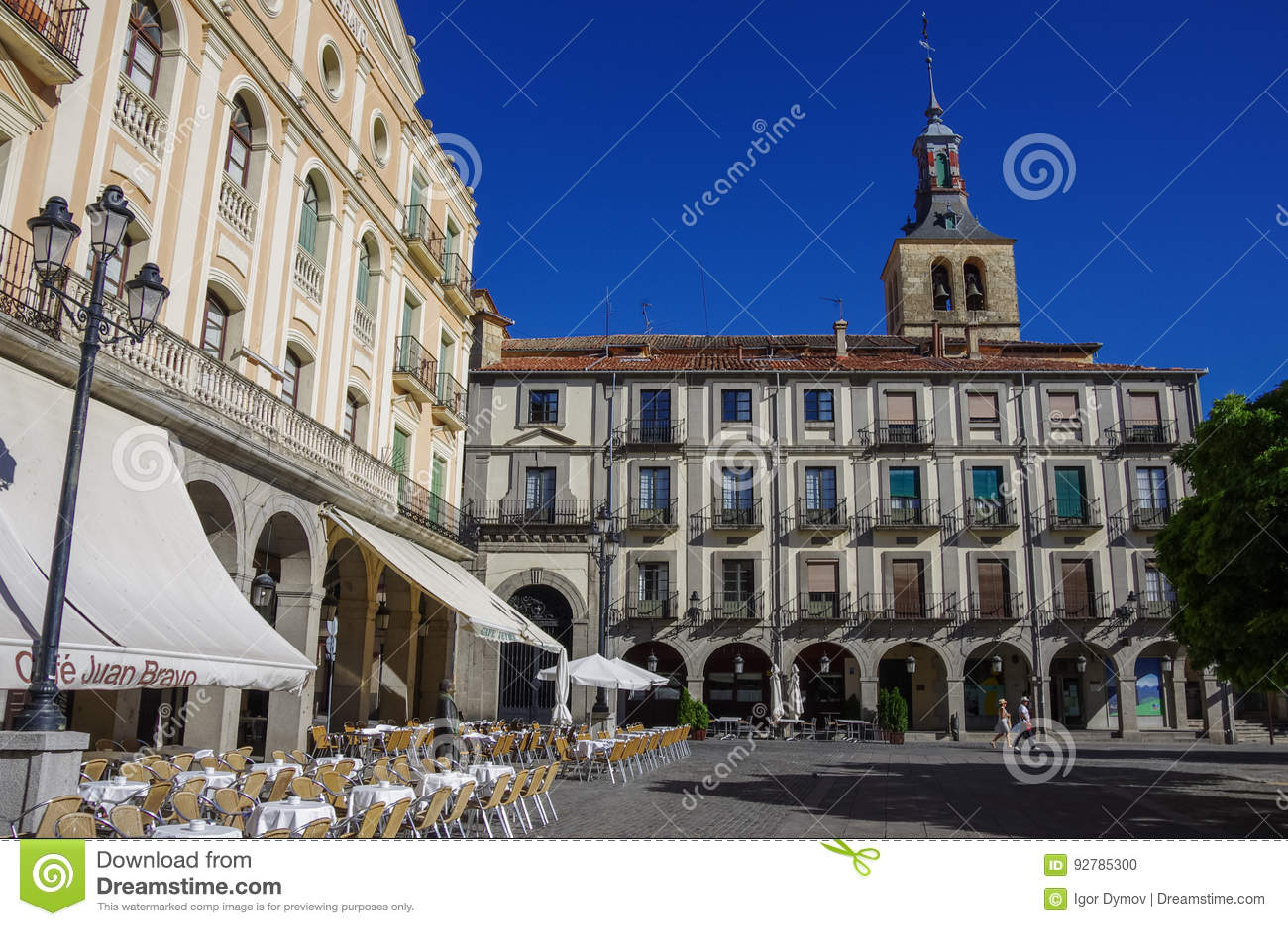 Plaza de Armas central fyrkant i gammal stad av den medeltida historien