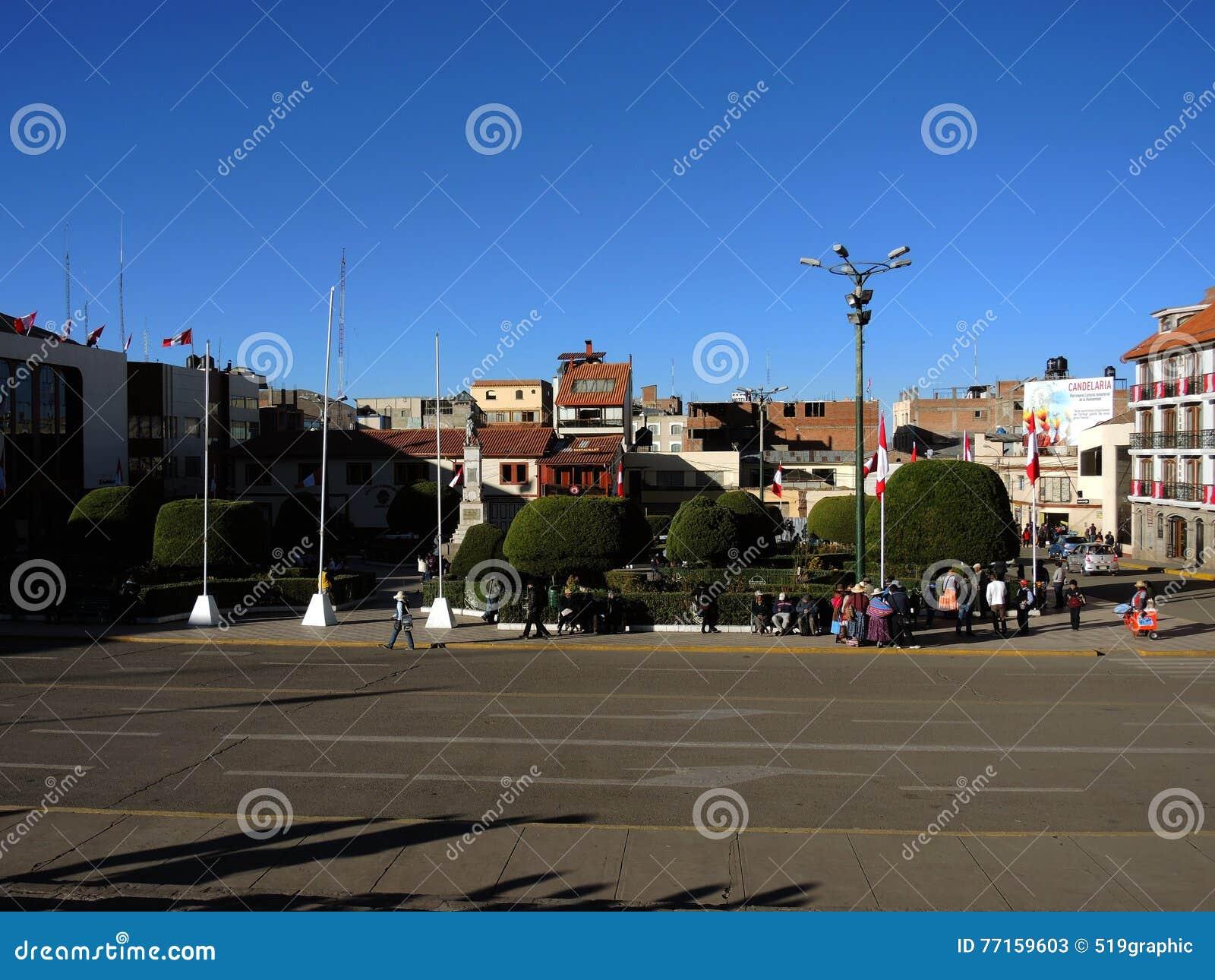Plaza de Armas, Puno, Pérou