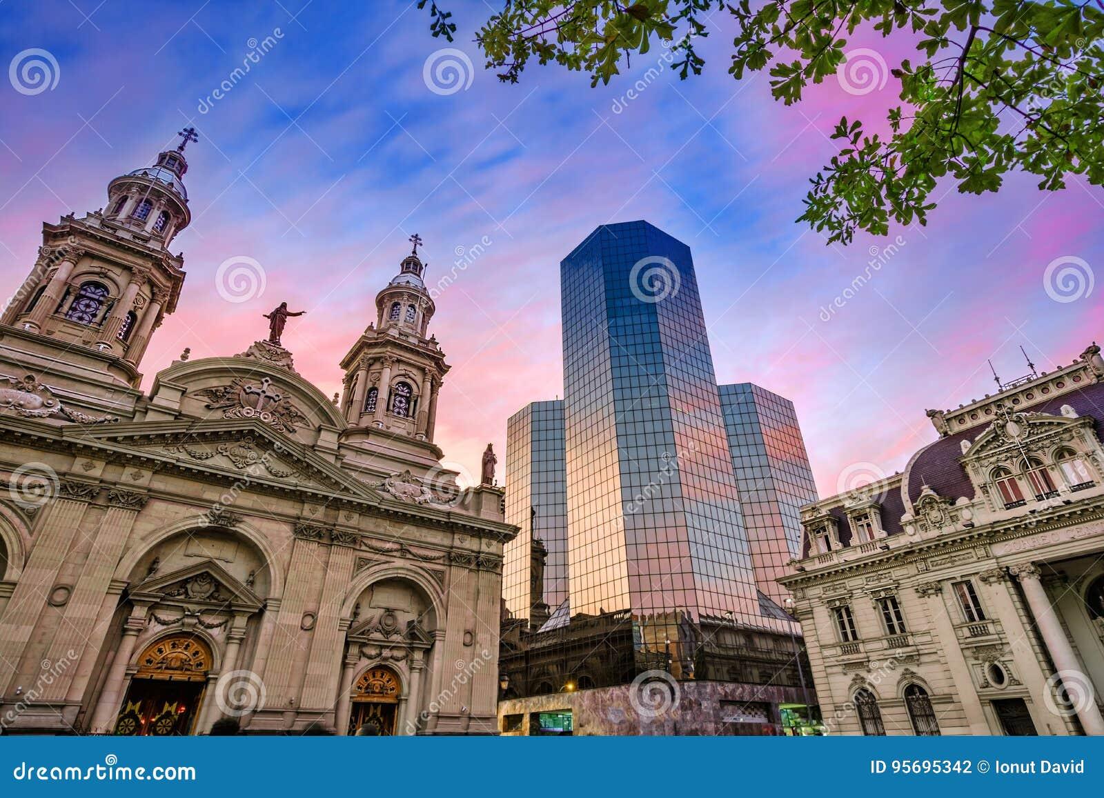 Plaza de Armas, Santiago de Chile, Chili