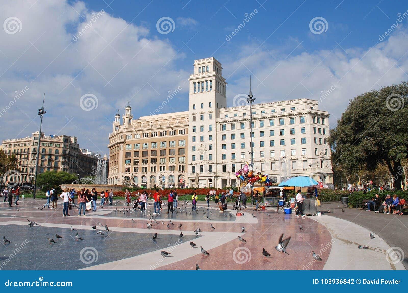 El Placa histórico de Catalunya en Barcelona a4fd3f01189